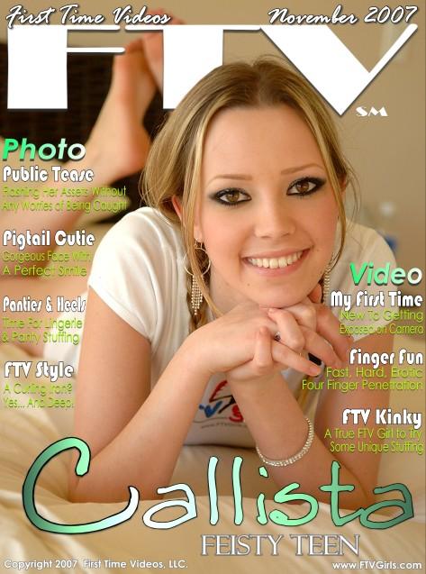 Callista - `Feisty Teen` - for FTVGIRLS