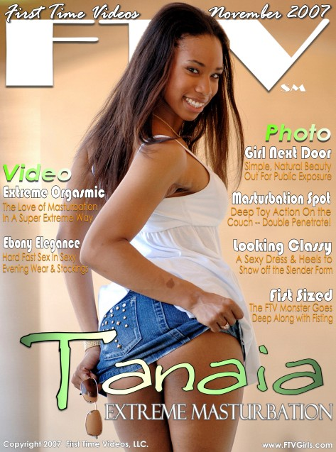 Tanaia - `Extreme Masturbation` - for FTVGIRLS