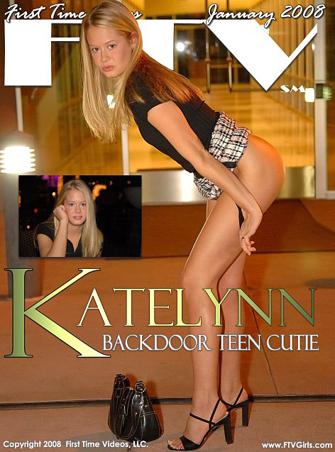 Katelynn - `Backdoor Teen Cutie` - for FTVGIRLS