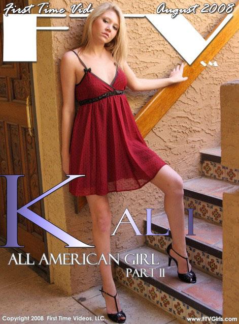Kali in All American Girl - Part II gallery from FTVGIRLS