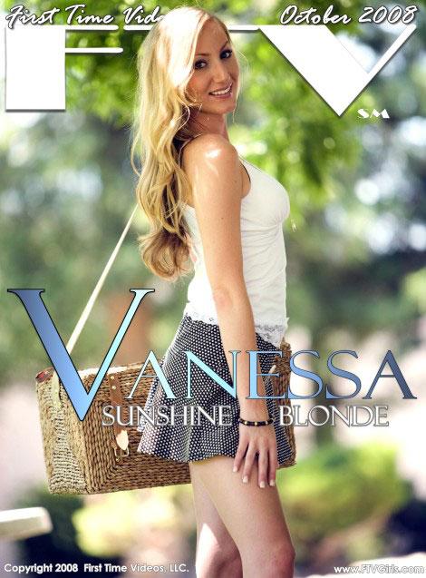 Vanessa - `Sunshine Blonde` - for FTVGIRLS