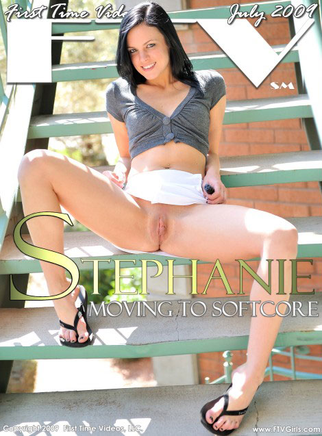 Stephanie - `Moving to Softcore` - for FTVGIRLS