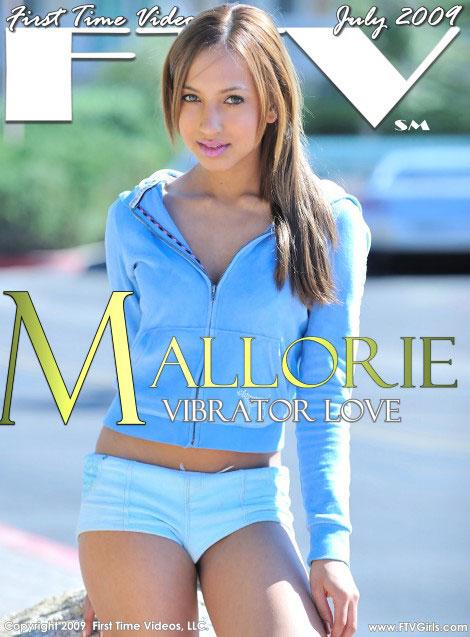 Mallorie - `Vibrator Love` - for FTVGIRLS