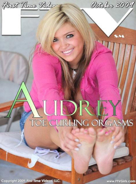Audrey - `Toe Curling Orgasms` - for FTVGIRLS