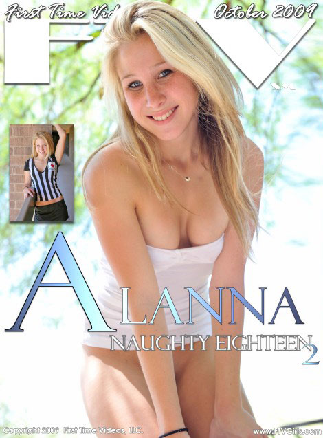 Alanna - `Naughty Eighteen 2` - for FTVGIRLS