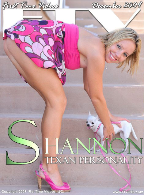 Shannon - `Texan Personality` - for FTVGIRLS