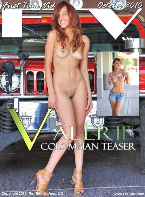 Valerie - `Columbian Teaser` - for FTVGIRLS