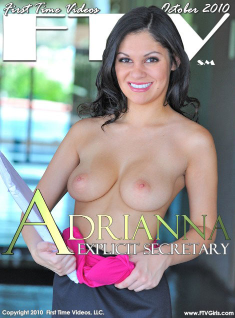 Adrianna - `Explicite Secretary` - for FTVGIRLS
