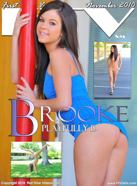 Brooke - `Playfully 19` - for FTVGIRLS
