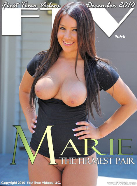 Marie - `The Firmest Pair` - for FTVGIRLS