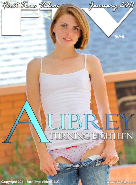Aubrey - `Turning Eighteen` - for FTVGIRLS