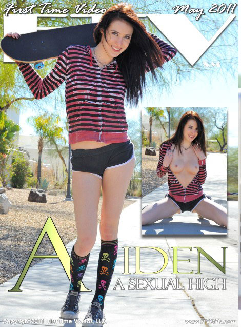 Aiden - `A Sexual High` - for FTVGIRLS
