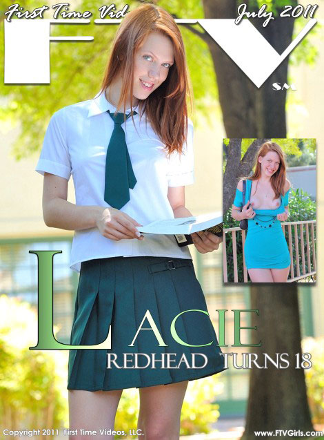 Lacie - `Redhead Turns 18` - for FTVGIRLS