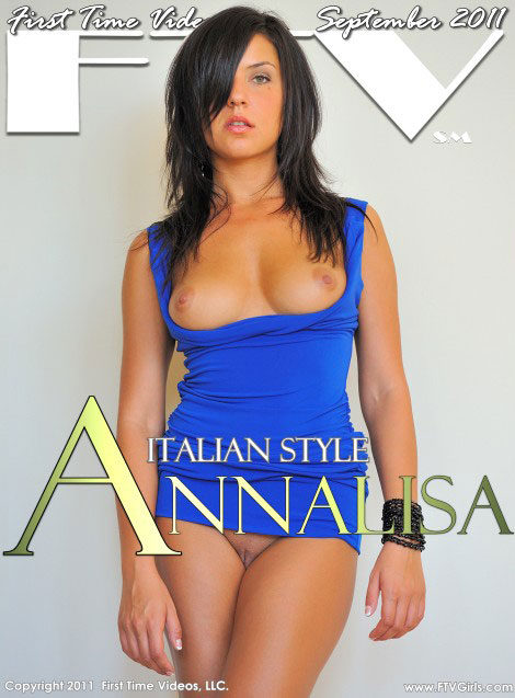 Annalisa - `Italian Style` - for FTVGIRLS
