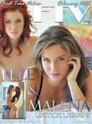 Elle & Malena - Lipstick Lesbans