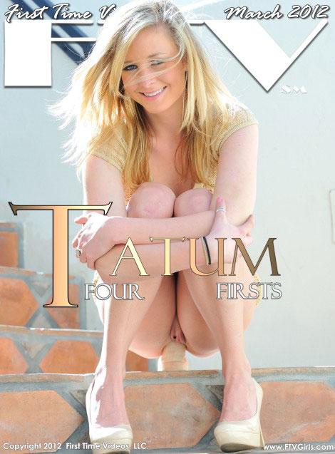 Tatum - `Four Firsts` - for FTVGIRLS