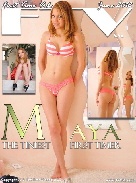 Maya - `The Tiniest First Timer` - for FTVGIRLS
