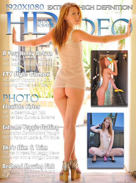 Lacie - `#036 — Redhead Grows Up!` - for FTVGIRLS