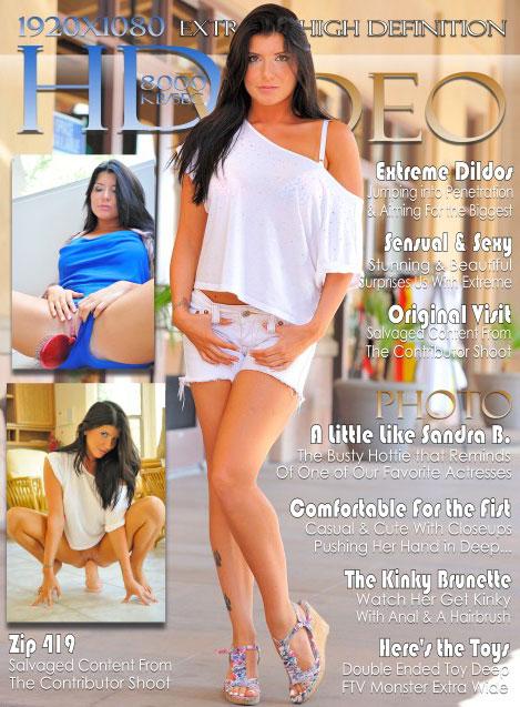 Romi - `Brunette Erotica` - for FTVGIRLS