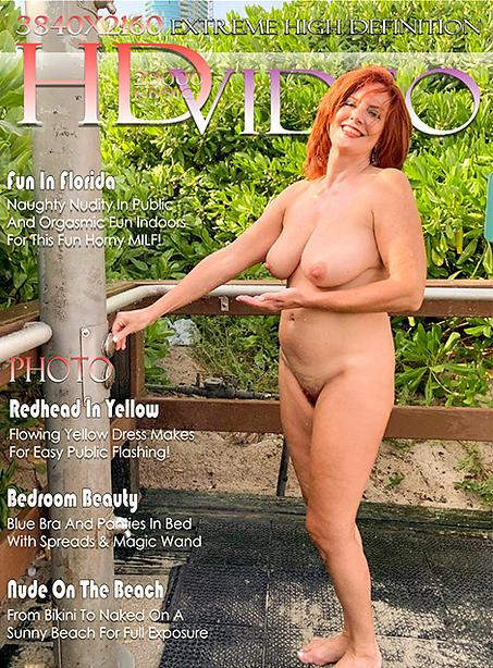 Andi in Redhead In Yellow gallery from FTVMILFS