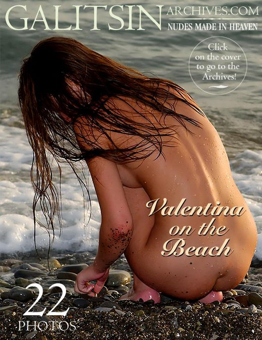 Valentina - `Valentina On The Beach` - by Galitsin for GALITSIN-ARCHIVES