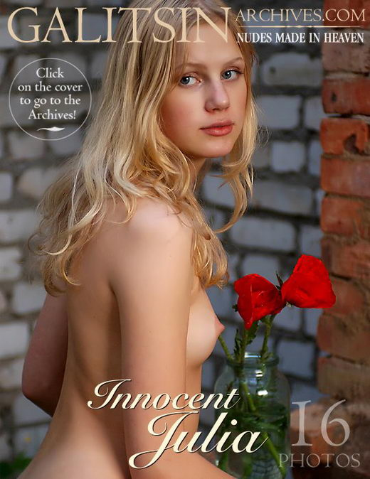Julia - `Innocent Julia` - by Galitsin for GALITSIN-ARCHIVES