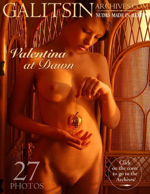 Valentina - `Valentina At Dawn` - by Galitsin for GALITSIN-ARCHIVES