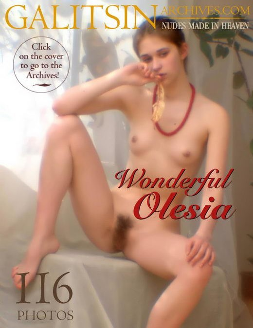 Olesia - `Wonderful Olesia` - by Galitsin for GALITSIN-ARCHIVES