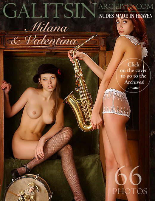 Milana & Valentina - `Milana & Valentina` - by Galitsin for GALITSIN-ARCHIVES