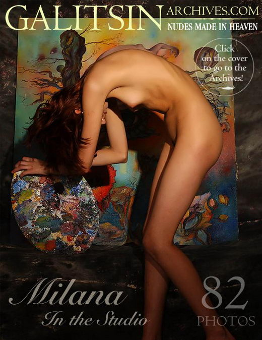 Milana - `Milana in the Studio` - by Galitsin for GALITSIN-ARCHIVES
