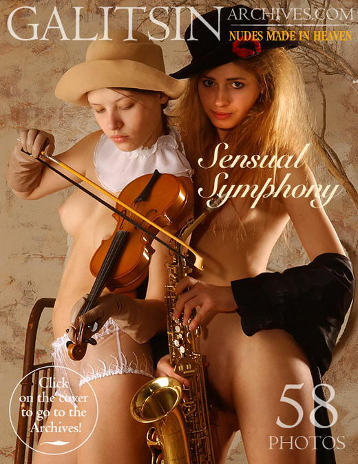 Irina & Natali - `Sensual Symphony` - by Galitsin for GALITSIN-ARCHIVES