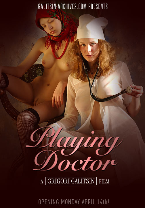 Vera & Valentina - `Playing Doctor` - by Galitsin for GALITSIN-ARCHIVES