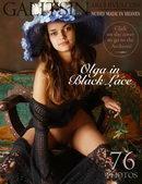 Olga In Black Dress