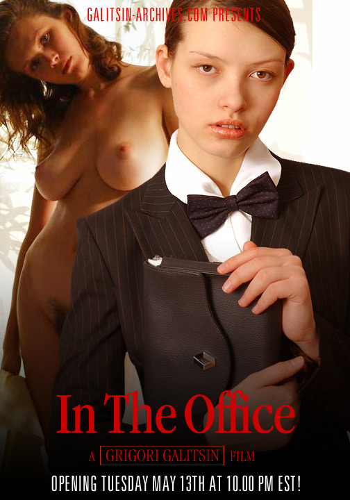 Valentina - `In the Office` - by Galitsin for GALITSIN-ARCHIVES