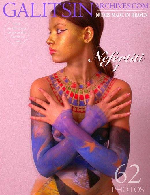 Irina - `Nefertiti 1` - by Galitsin for GALITSIN-ARCHIVES