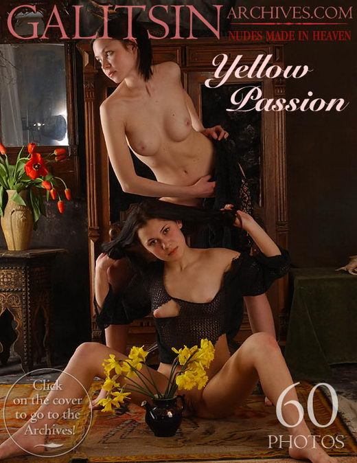 Nikita & Kamila - `Yellow Passion` - by Galitsin for GALITSIN-ARCHIVES