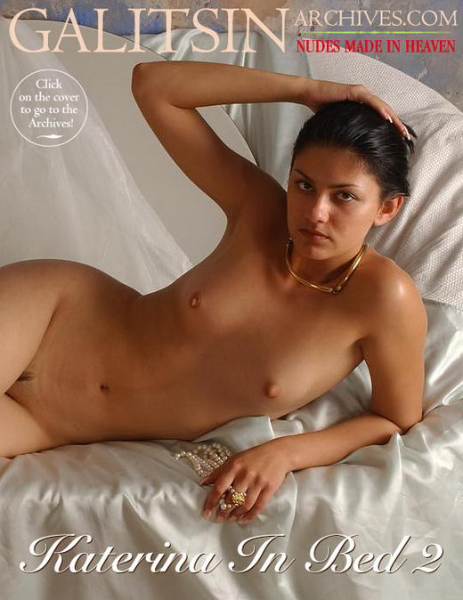 Katerina - `Katerina in Bed 2` - by Galitsin for GALITSIN-ARCHIVES