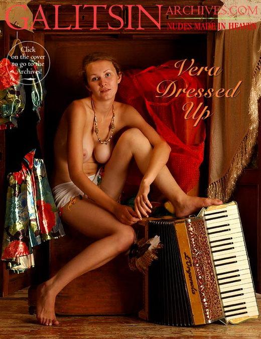 Vera - `Vera Dressed Up` - by Galitsin for GALITSIN-ARCHIVES