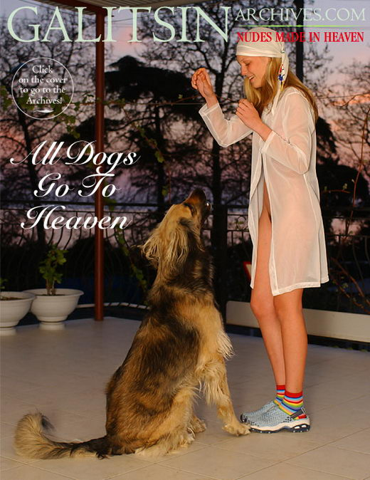 Olea - `All Dogs Go To Heaven` - by Galitsin for GALITSIN-ARCHIVES