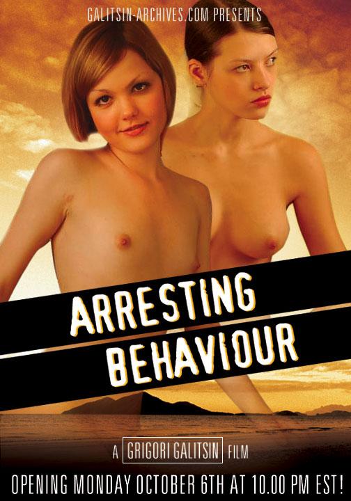 Liza & Valentina - `Arresting Behaviour` - by Galitsin for GALITSIN-ARCHIVES