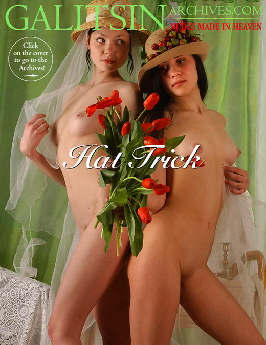 Kamila & Nikita - `Hat Trick` - by Galitsin for GALITSIN-ARCHIVES