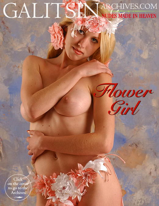 Zlata - `Flower Girl` - by Galitsin for GALITSIN-ARCHIVES