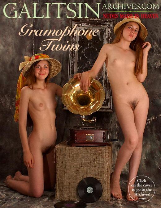 Lina & Maya - `Gramophone Twins` - by Galitsin for GALITSIN-ARCHIVES