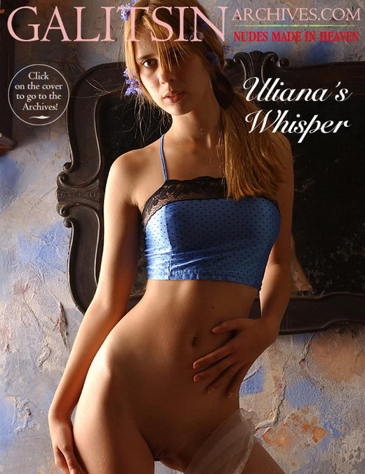 Uliana - `Uliana's Whisper` - by Galitsin for GALITSIN-ARCHIVES