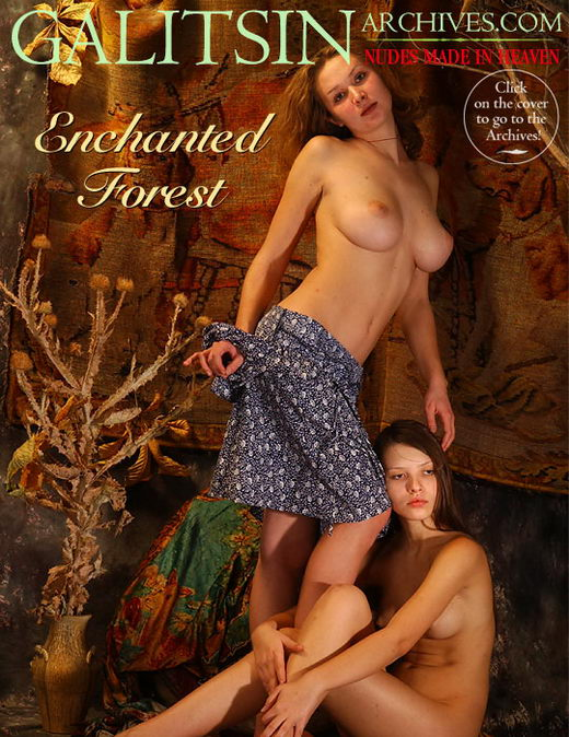 Fayina - `Enchanted Forest` - by Galitsin for GALITSIN-ARCHIVES