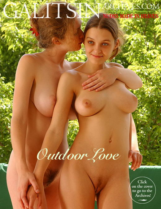 Vera & Tania - `Outdoor Love` - by Galitsin for GALITSIN-ARCHIVES