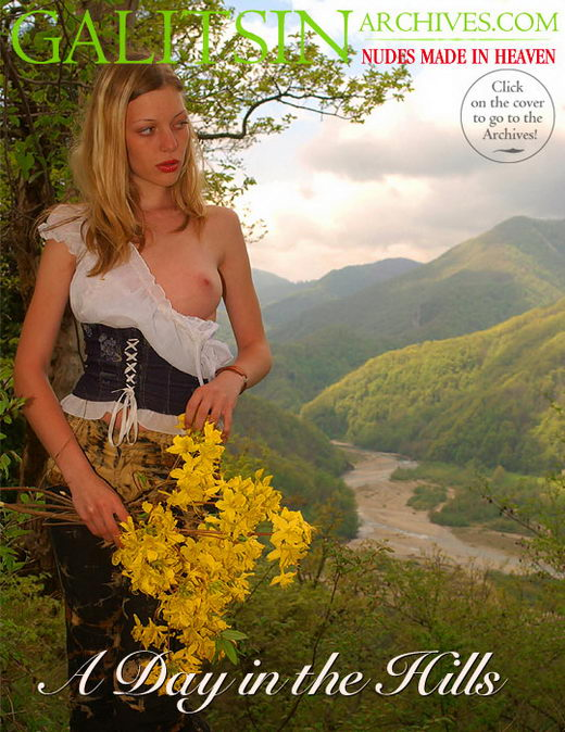 Olea & Irina - `A Day in the Hills` - by Galitsin for GALITSIN-ARCHIVES