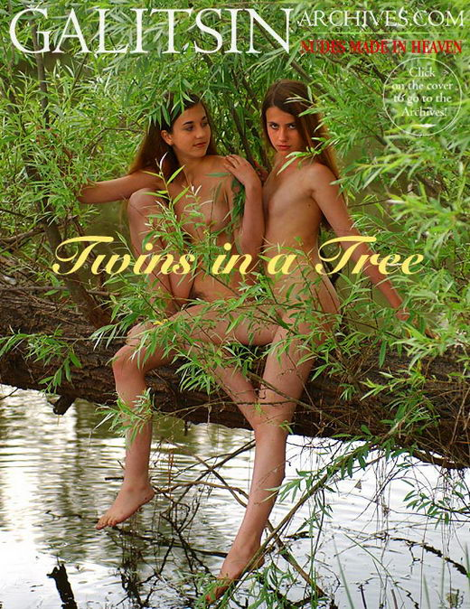 `Twins in a Tree` - by Galitsin for GALITSIN-ARCHIVES