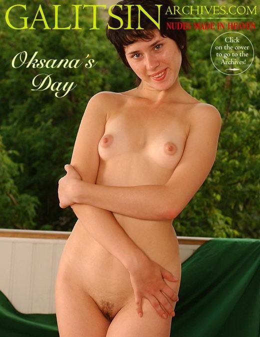 Oksana - `Oksana's Day` - by Galitsin for GALITSIN-ARCHIVES