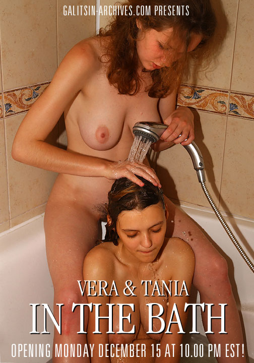 Vera & Tania - `In the Bath` - by Galitsin for GALITSIN-ARCHIVES